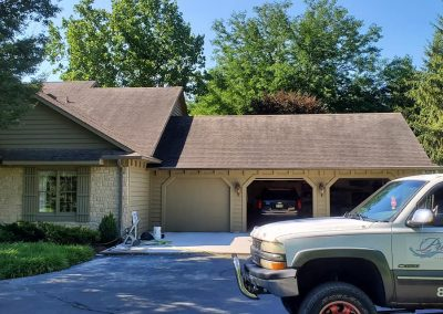 Prestige roof cleaning before