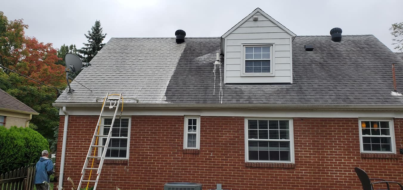 Roof Cleaning Dayton Oh
